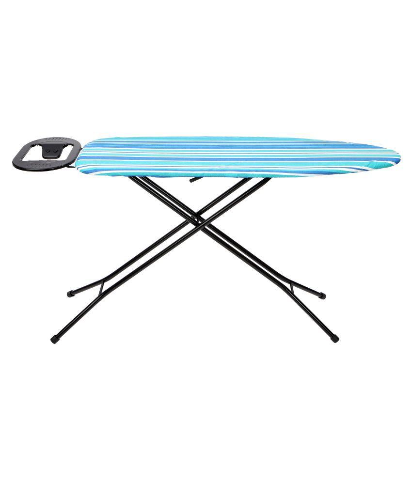 Ironing Board Black Stand 110 x 33 cm Blue Stripe - Eurostar