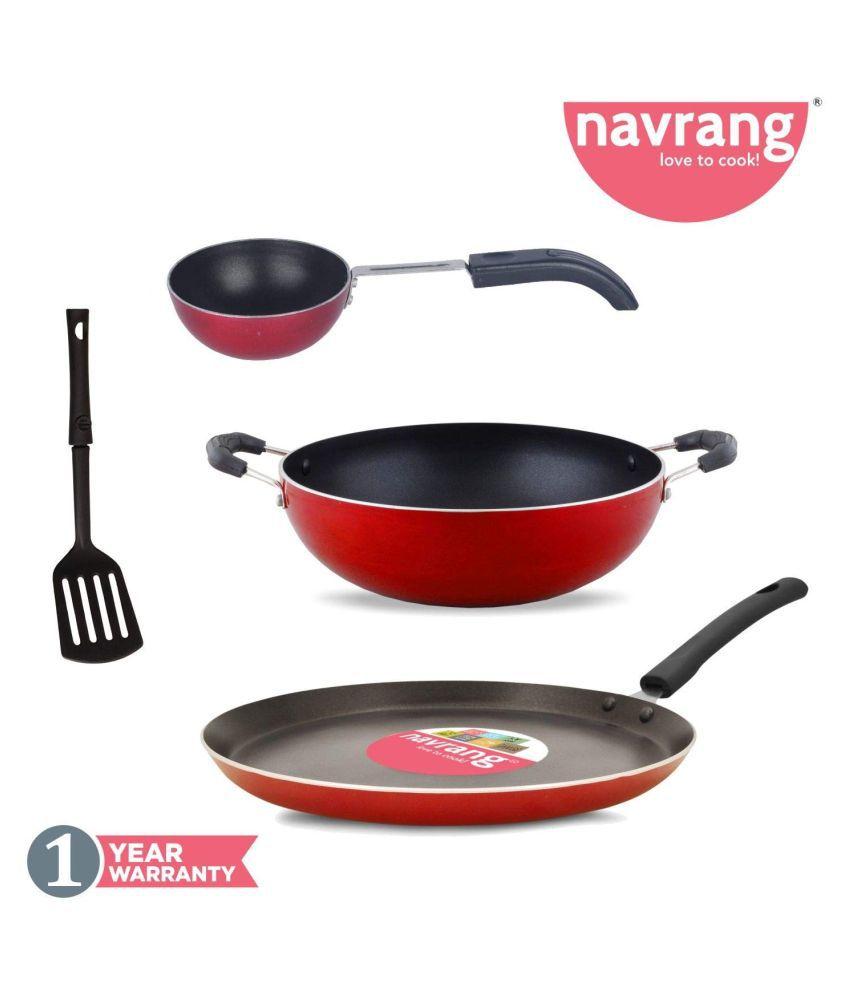 Navrang 4 Piece Cookware Set