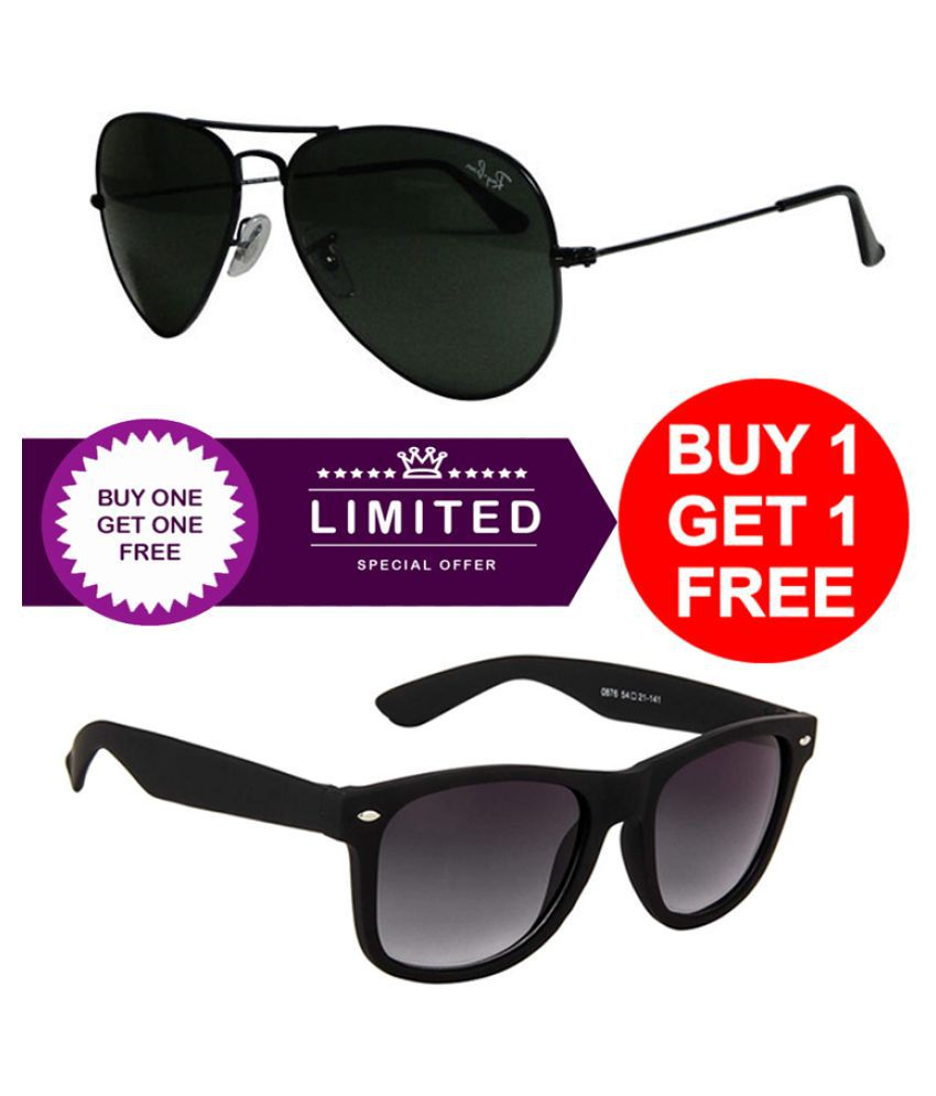 CRIOX Sunglasses Combo ( 2 pairs of sunglasses )