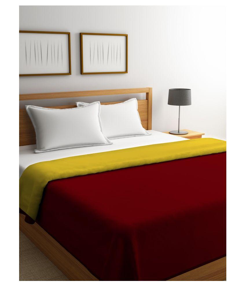 Romee King Cotton Red Plain Dohar