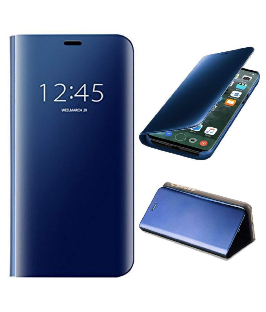Vivo Z1x Flip Cover by Lenis - Blue