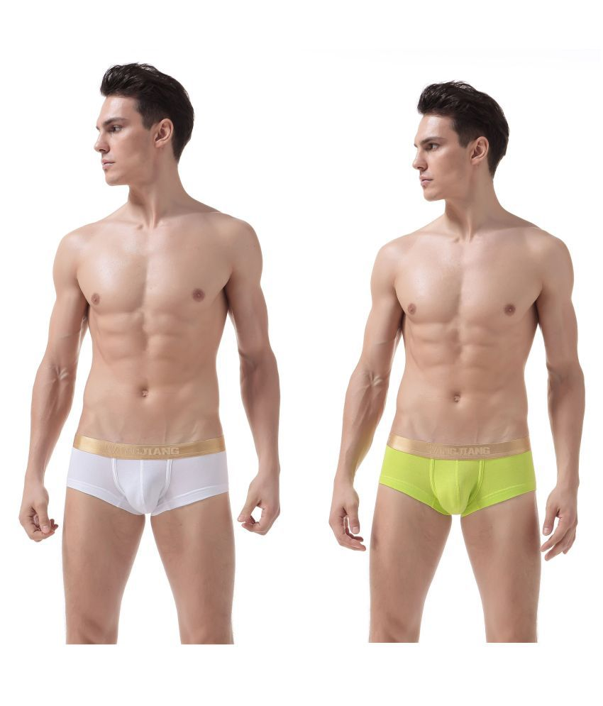 WangJiang White Brief Pack of 2