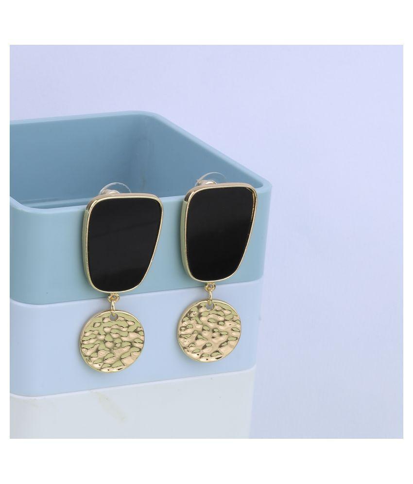 SILVER SHINE Gold Plated Charm Designer Earring For Women Girl