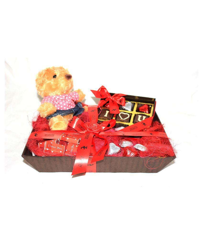Zoroy Luxury Chocolate Chocolate Box Valentines chocolate gift box 200 gm