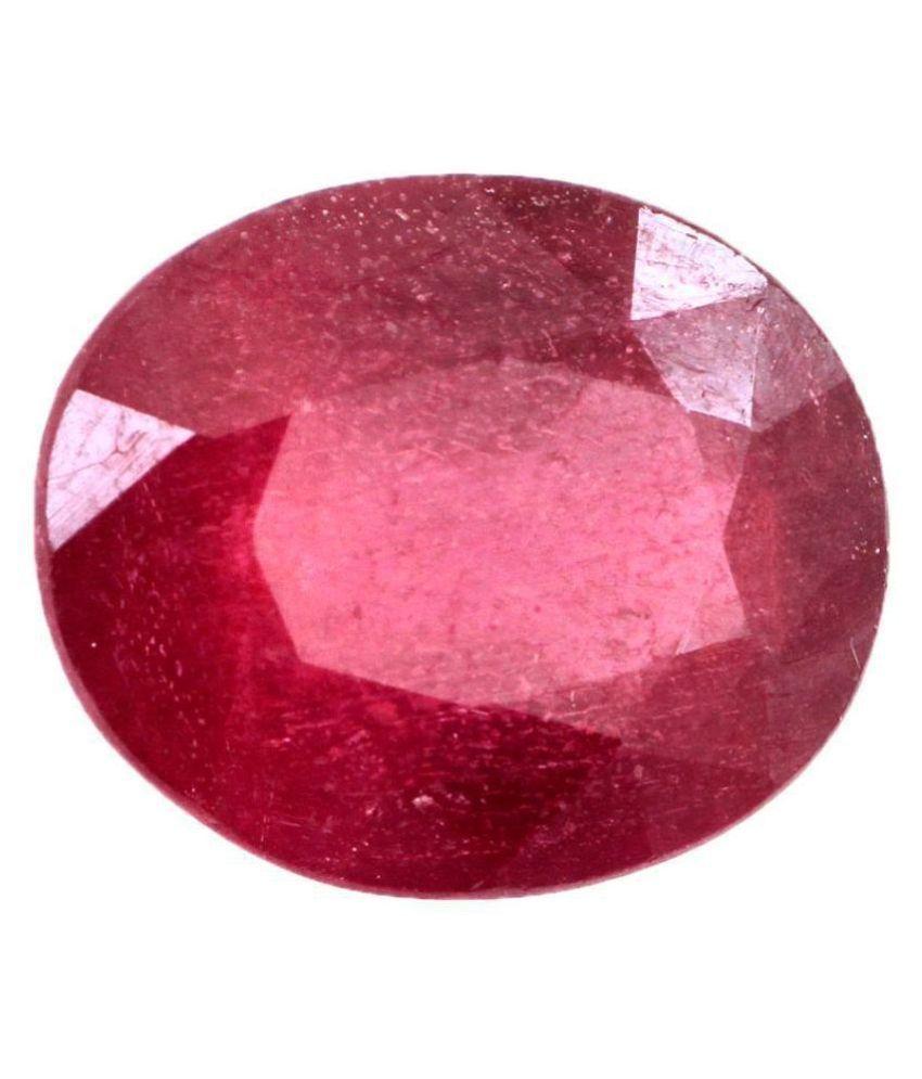 Gems Jewels Online 6.11 -Ratti IGL&I Red Ruby Precious Gemstone