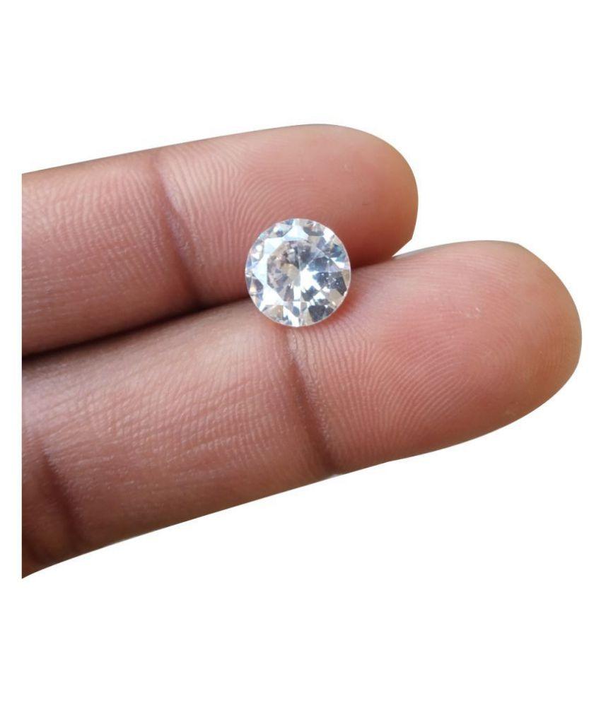 Gemsamor 3.25 -Ratti IGL&I White Zircon Precious Gemstone