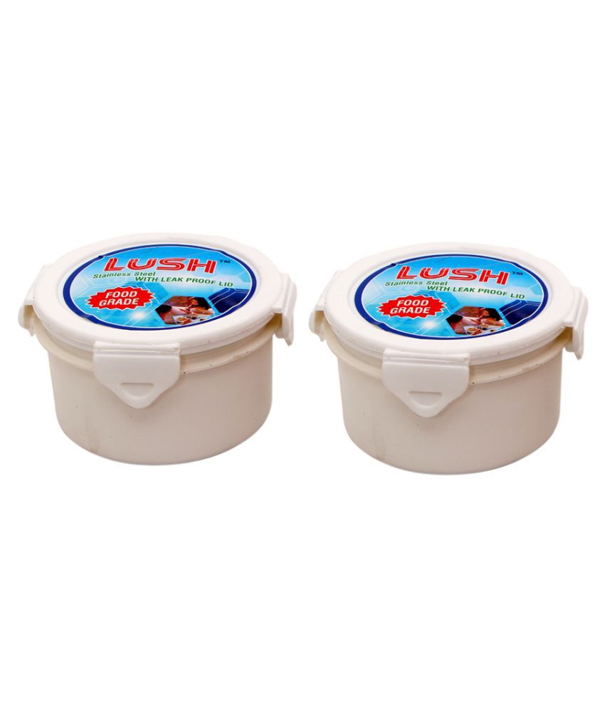 LUSH Polyproplene Food Container Set of 2 250 mL
