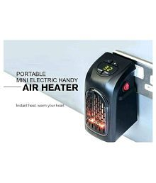 Shopnail small size Air handy portable heater with temperature control switches and off timer with digital led display