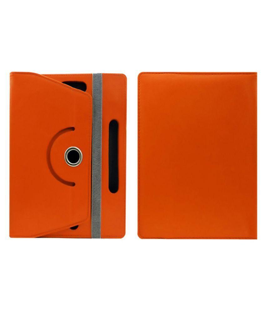 Lenovo S6000 25.65 cm(10.1) Flip Cover By Cutesy Orange