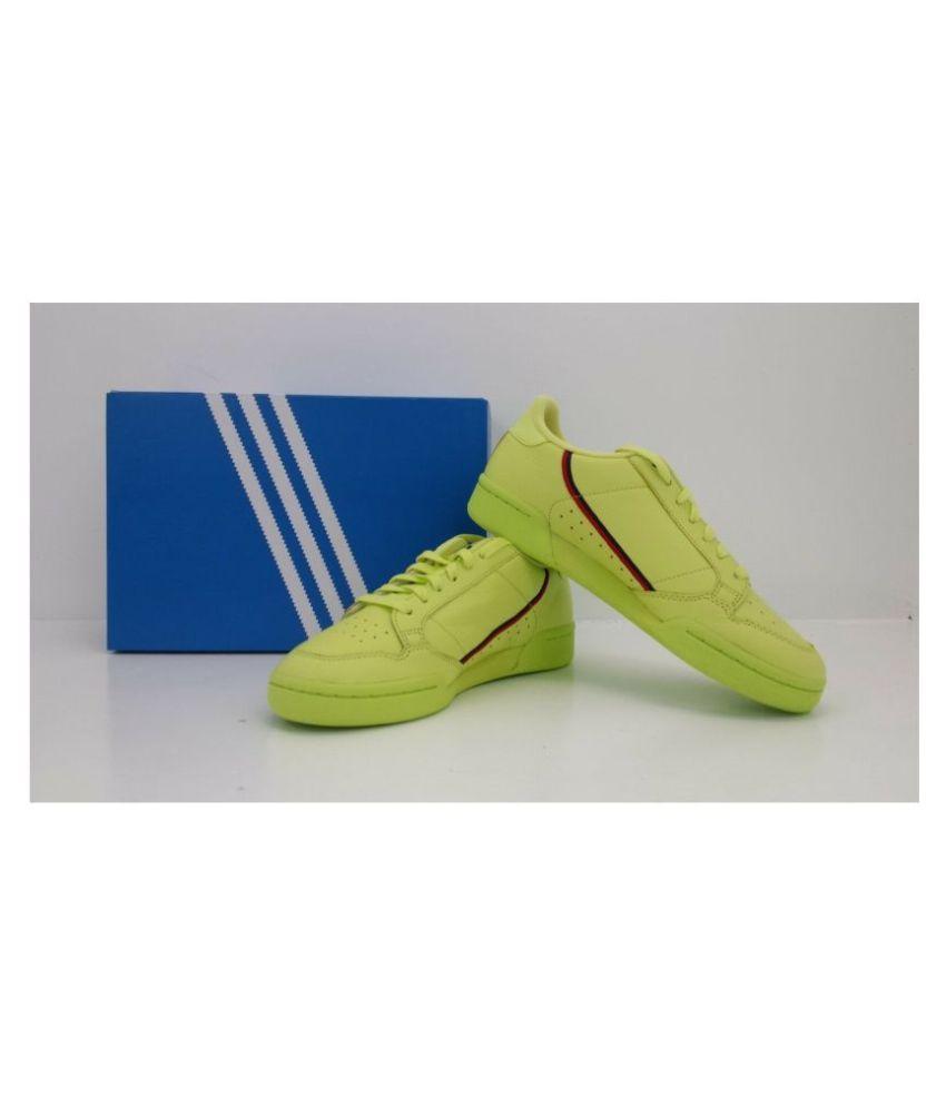Adidas CONNTINENAL FROZEN Green Basketball Shoes