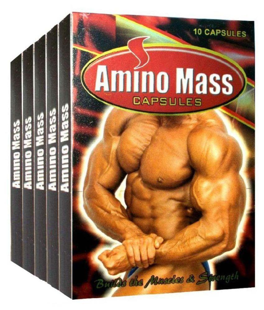 Cackle's Amino Mass Capsule (10x10=100 Caps) Capsule 100 no.s