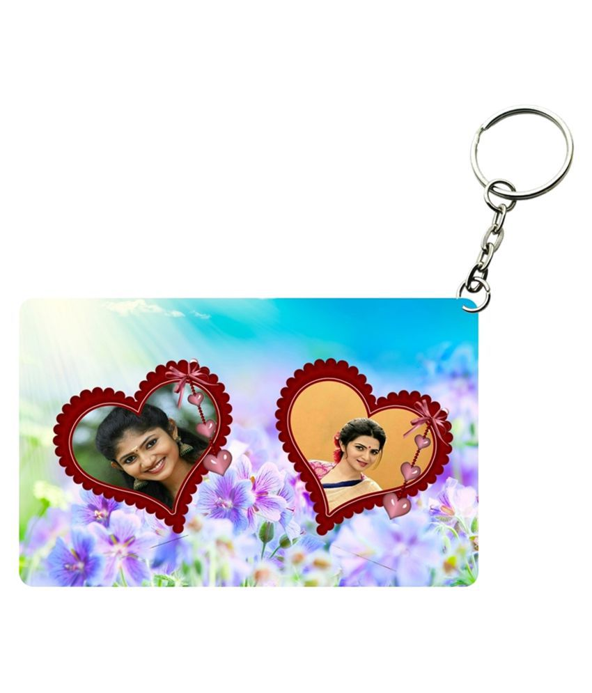 Net Data Express Multicolour PVC Keychain - Pack of 1