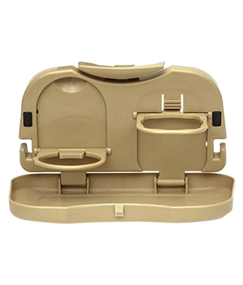 GLAZE Food Tray for Headrest Beige