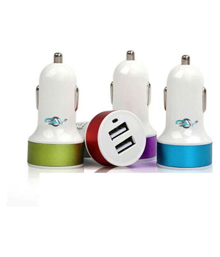 GAV Car Mobile Charger 2 USB Multicolour