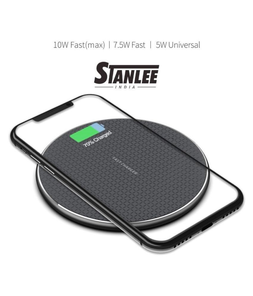 STANLEE INDIA 1.5A Wireless Charging Pad