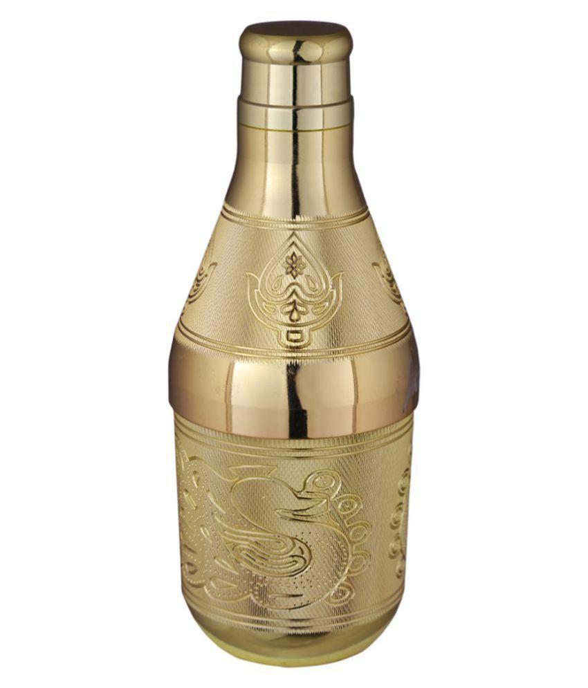 Arni Mukhwas Bottle Brass Spice Container Set of 1 200 mL
