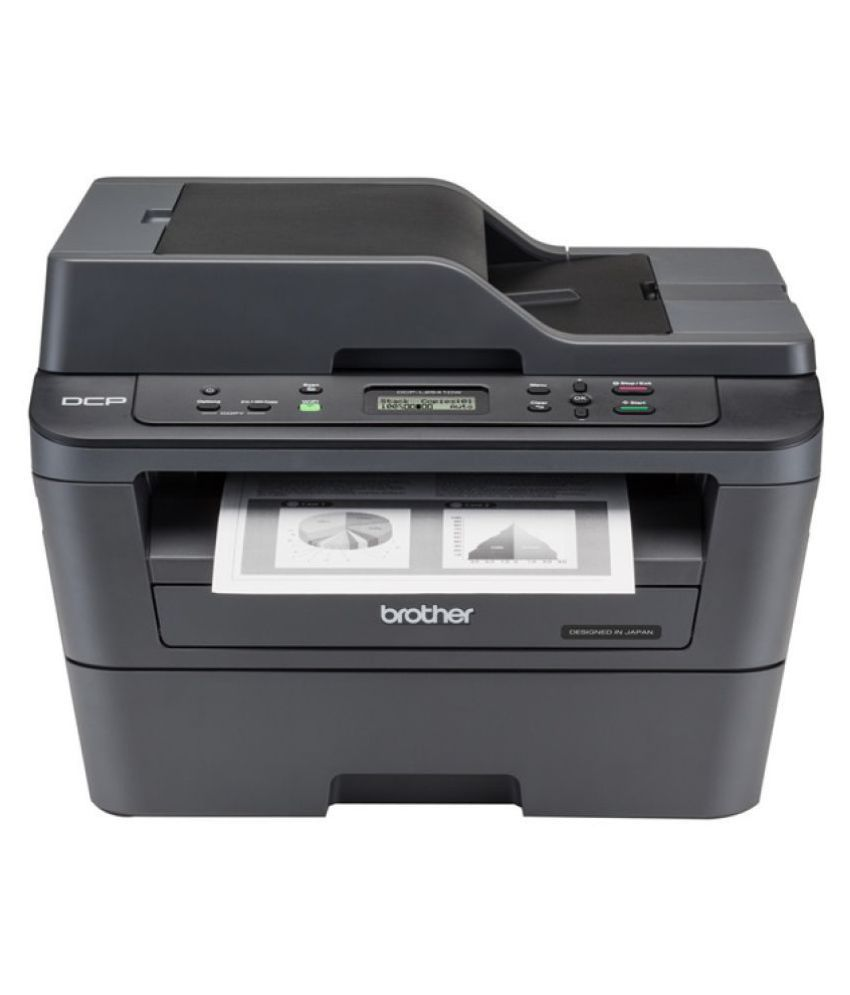 Brother DCP-L2541DW Multi-Function Wireless Monochrome Laser Printer Multi-function Printer(Black)