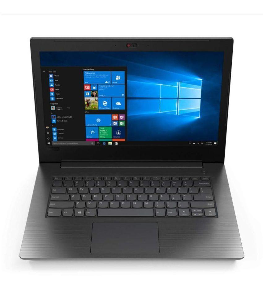 Lenovo V130 81HQA004IH 2019 14 inch Laptop  7th Gen Core i3 7020UN/4  GB/1TB HDD/DOS/Intel HD Graphics 620 Graphics , Black