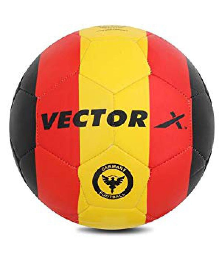 Vector X Germany Synthetic Black Football Size  5
