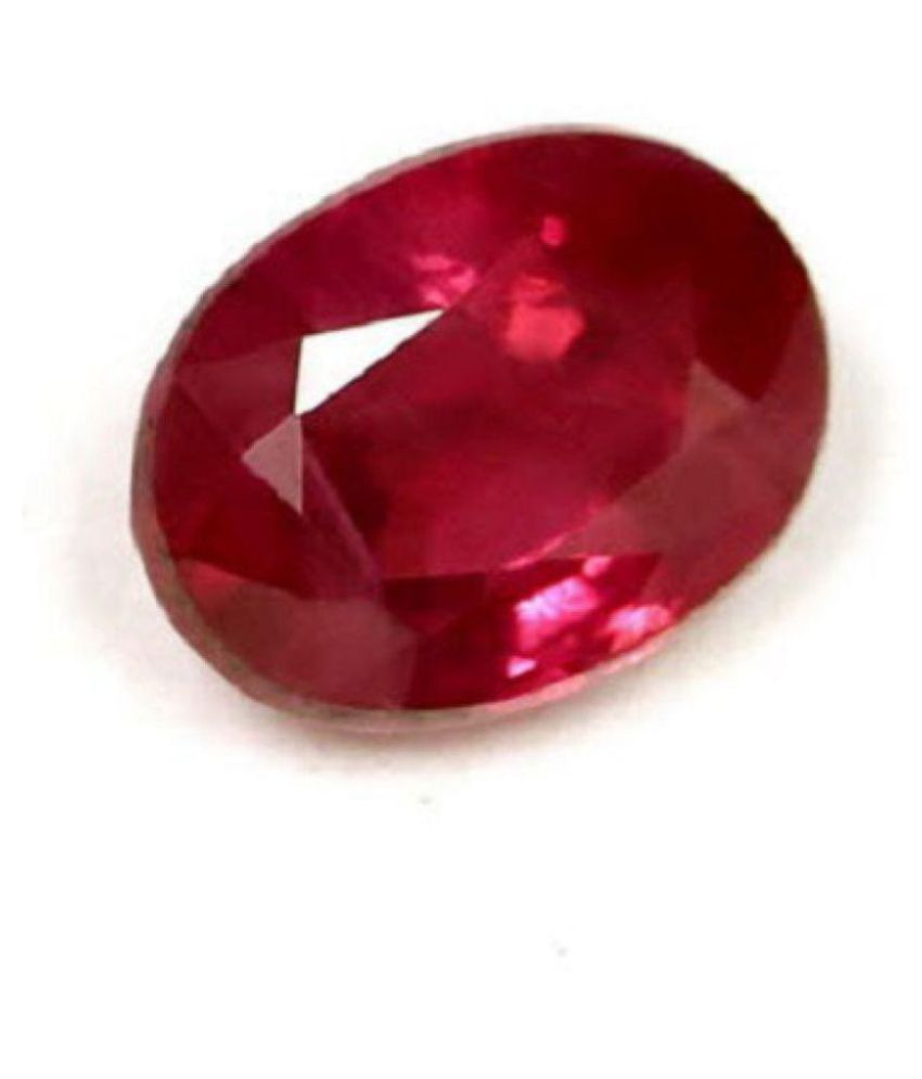 KESHAV 6.25 -Ratti Self certified Pink Ruby Precious Gemstone