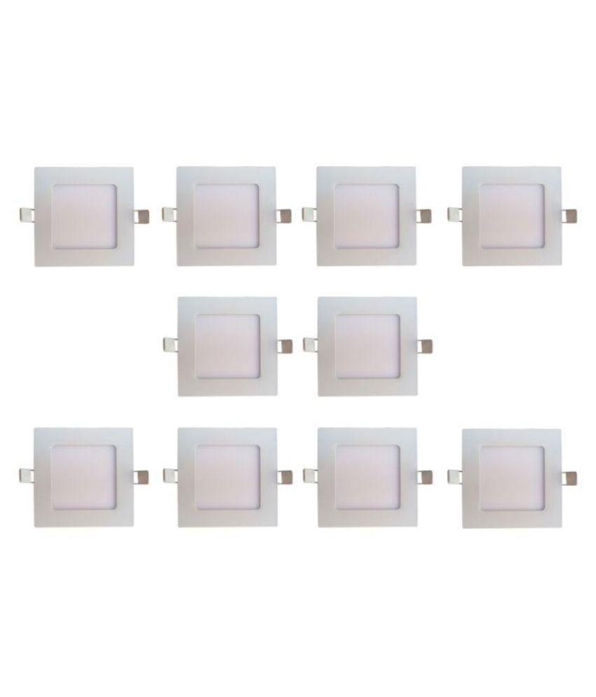 Bene 12W Square Ceiling Light 17 cms. - Pack of 10