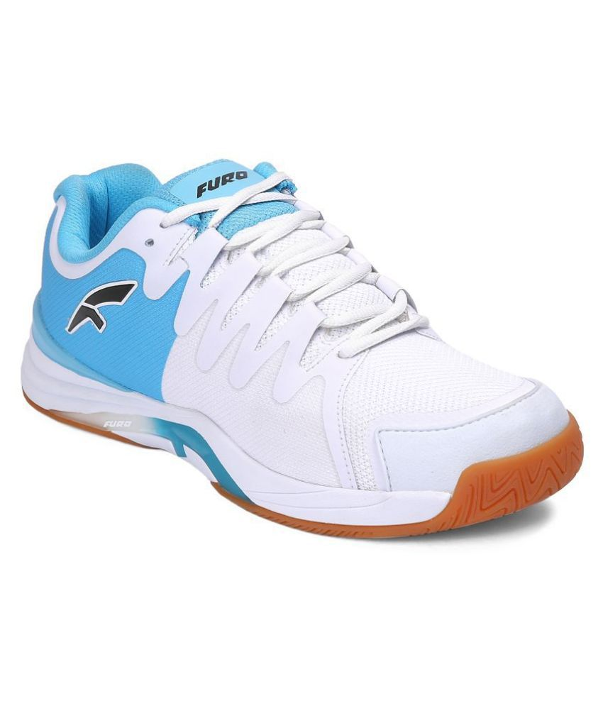 FURO By Red Chief T6004 White Male Non-Marking Shoes