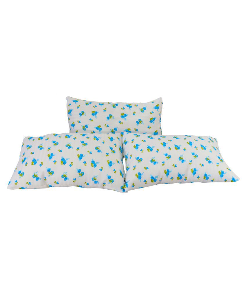 MSIPL Set of 3 Fibre Pillow