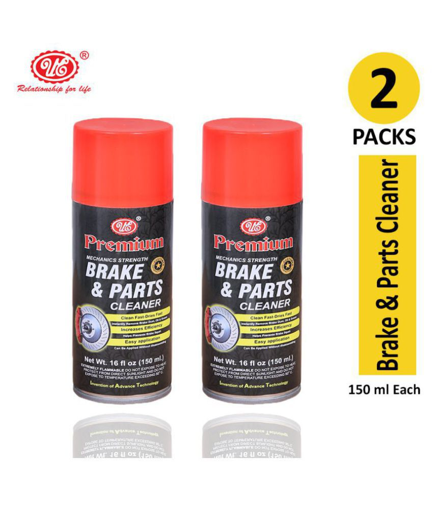 UE Premium High Power Brake & Parts Cleaner Spray- Non-Flammable Non Chlorinated - 150 ml (Pack of 2)