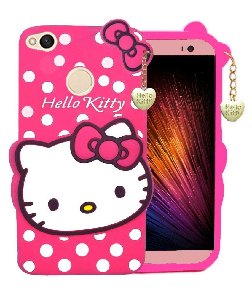 Redmi Y1 Printed Cover By ClickAway Cute Hello Kitty Back Cover