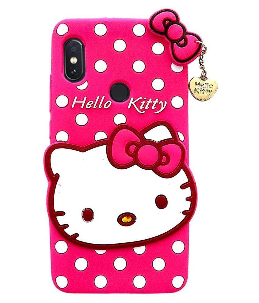 Xiaomi Mi A2 (Mi 6X) Printed Cover By ClickAway Cute Hello Kitty Back Cover