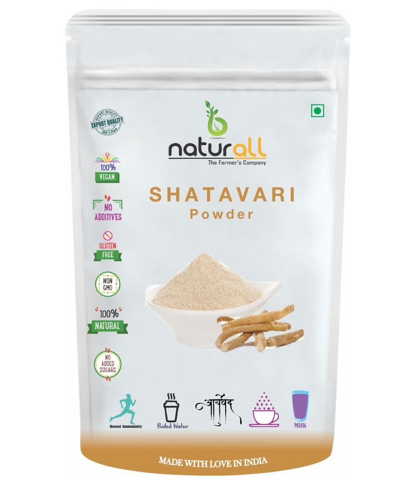 BNaturall Shatavari Root Powder | Asparagus Root Powder 200 gm