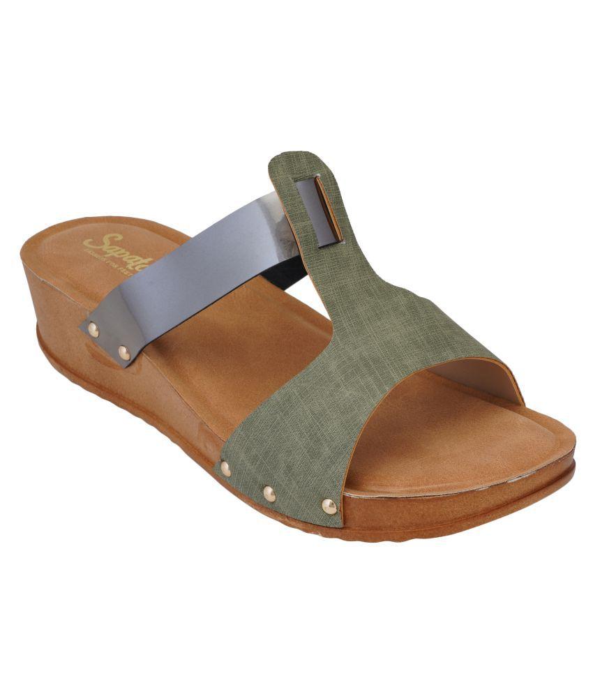 Sapatos Cream Flats