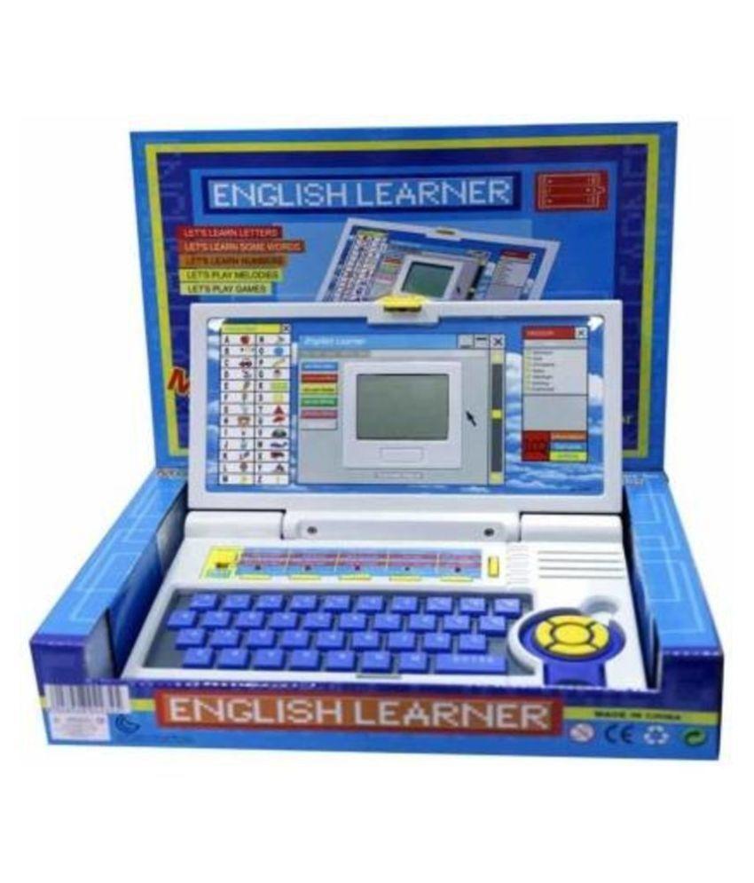 BANYAN DTC SMART EDUCATION  ENGLISH LEARNER LAPTOP TOYS