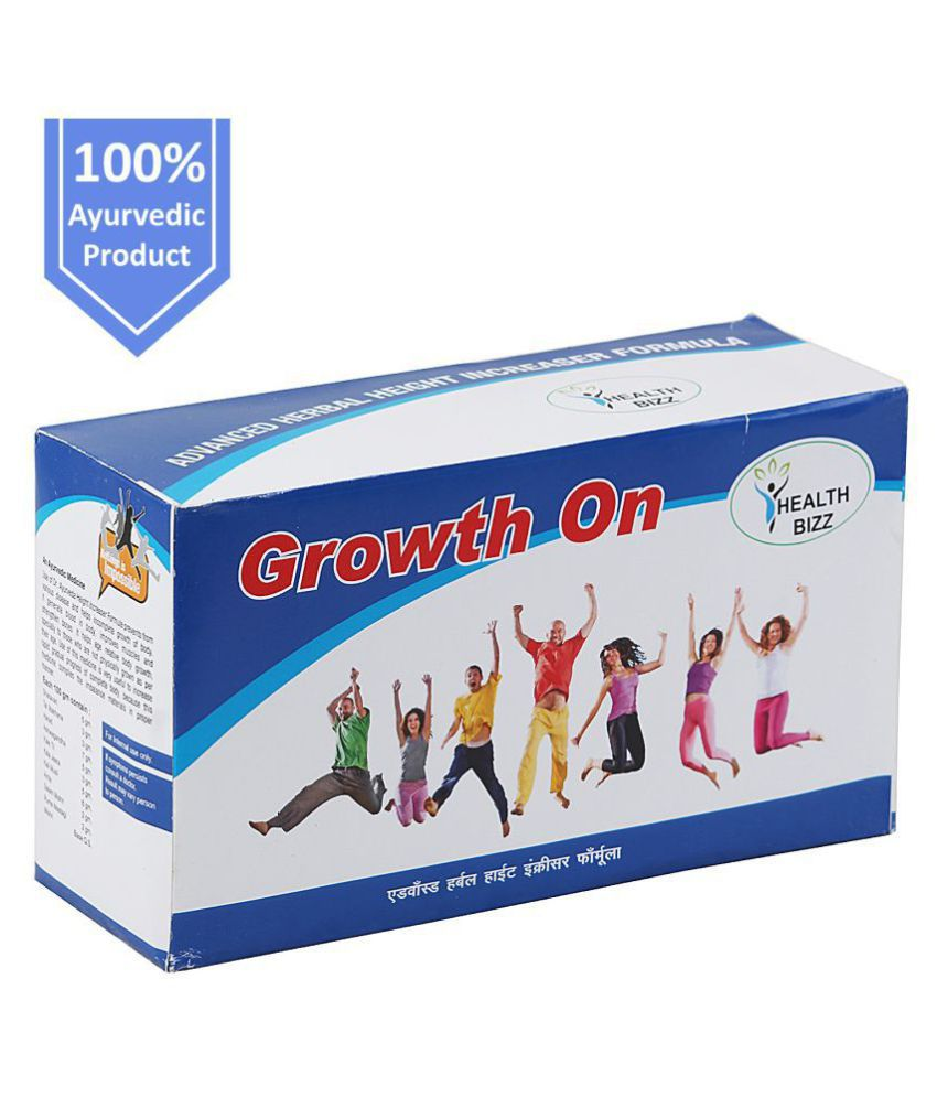 Healthbizz GROWTH ON HEIGHT GAINER FORMULA Powder 300 gm Pack of 3