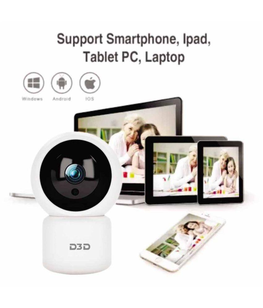 D3D M1026P Ultra HD 2 MP Wi-Fi Dome Wireless IP Home