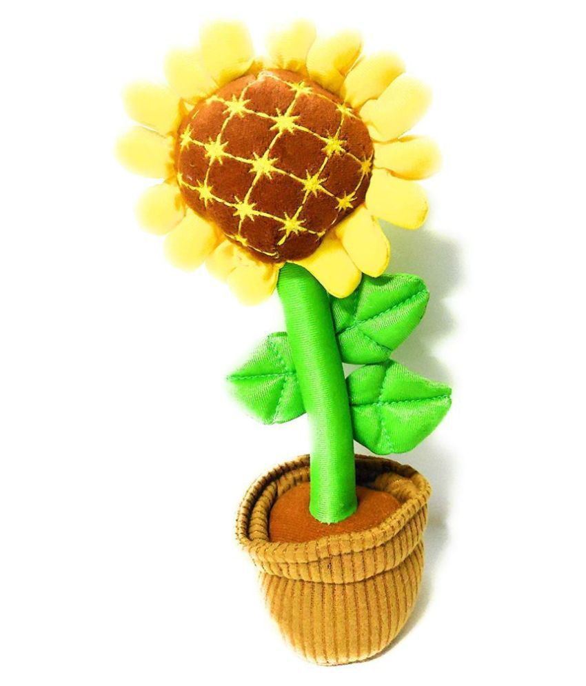 House of Fun Sunflower Plush Toy Sunflower Doll Birthday Gift Decoration Furnishing Articles Kids Toys