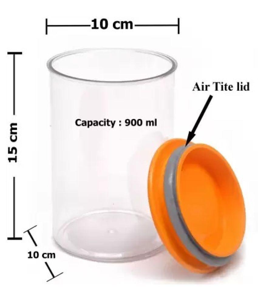 EZVISION PET Food Container Set of 3 900 mL