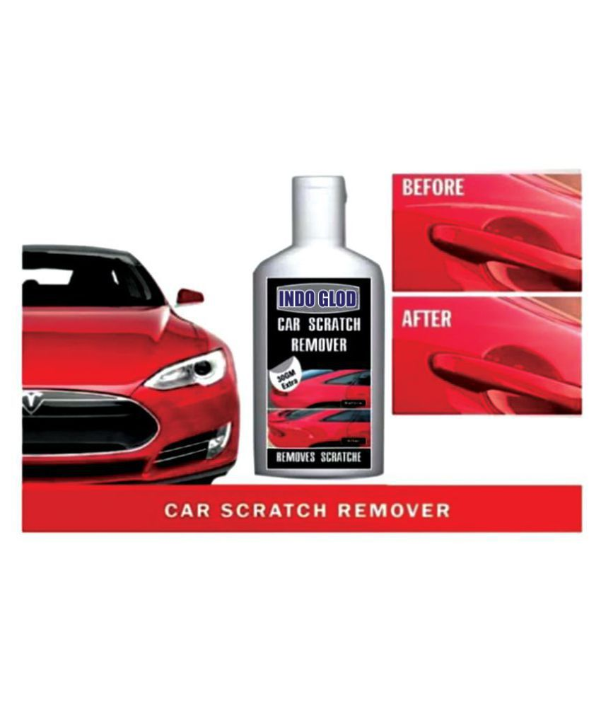 INDO GOLD All Colour Car & Bike Scratch Remover, Advanced Formula Rubbing Compound (Not for Dent & Deep Scratchese)100gm+30gm Extra