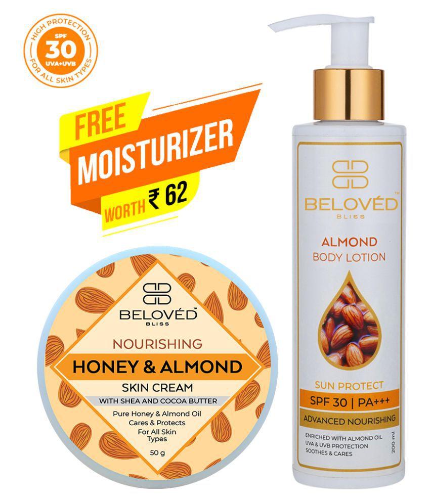 Beloved Bliss Nourishing Almond & Coconut Milk Body Lotion ( 250 gm g Pack of 2 )