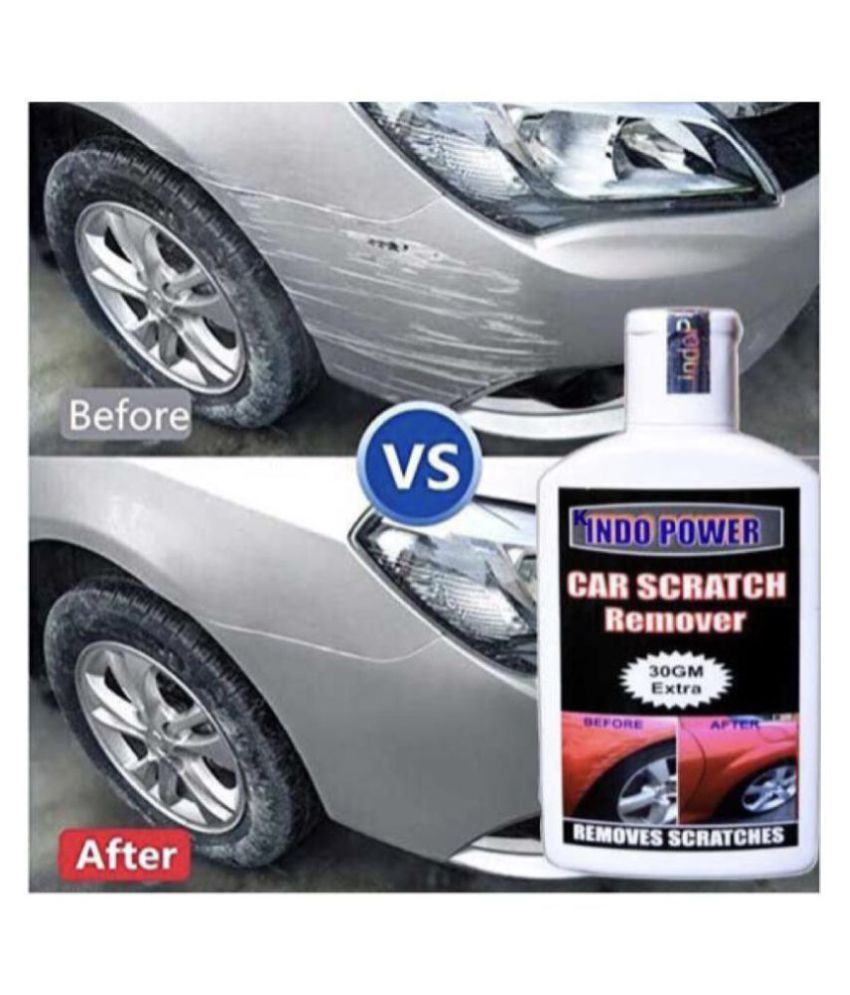 INDO POWER All Colour Car & Bike Scratch Remover, Advanced Formula Rubbing Compound (Not for Dent & Deep Scratchese)100gm+30gm Extra