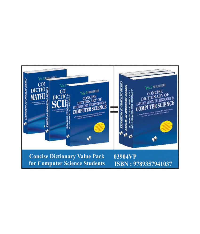 Concise Dictionary Value Pack For Computer Sciences Students