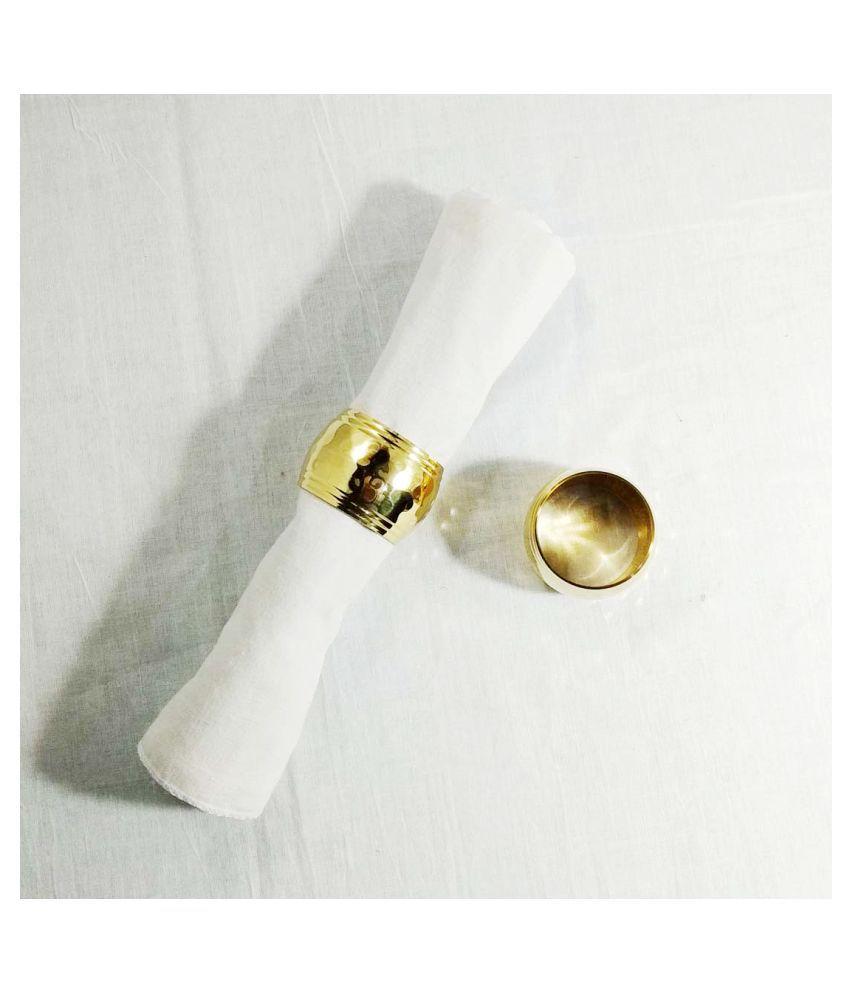 Cronian Brass Napkin Ring 2 Pcs