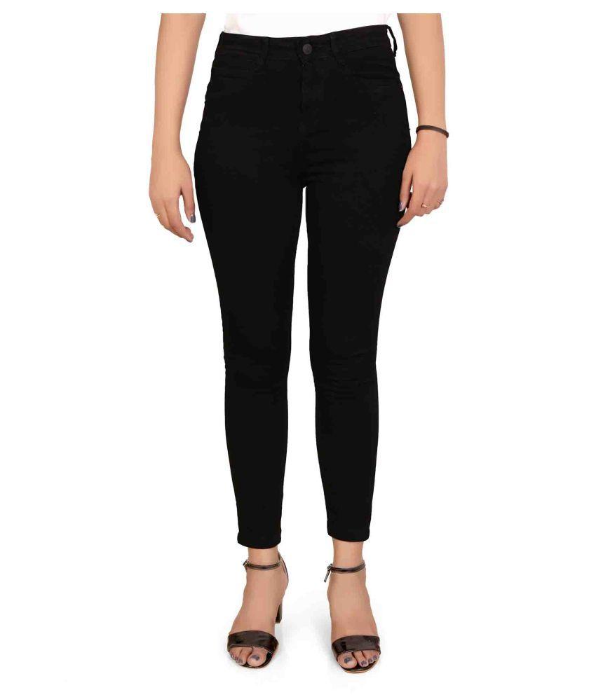 FORTH Denim Lycra Jeans - Black