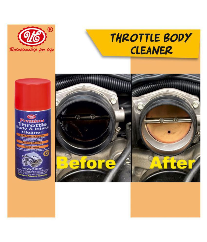 UE PREMIUM THROTTLE BODY & INTAKE CLEANER SPRAY - (150 ML) Car Care/Car Accessories/Automotive Products
