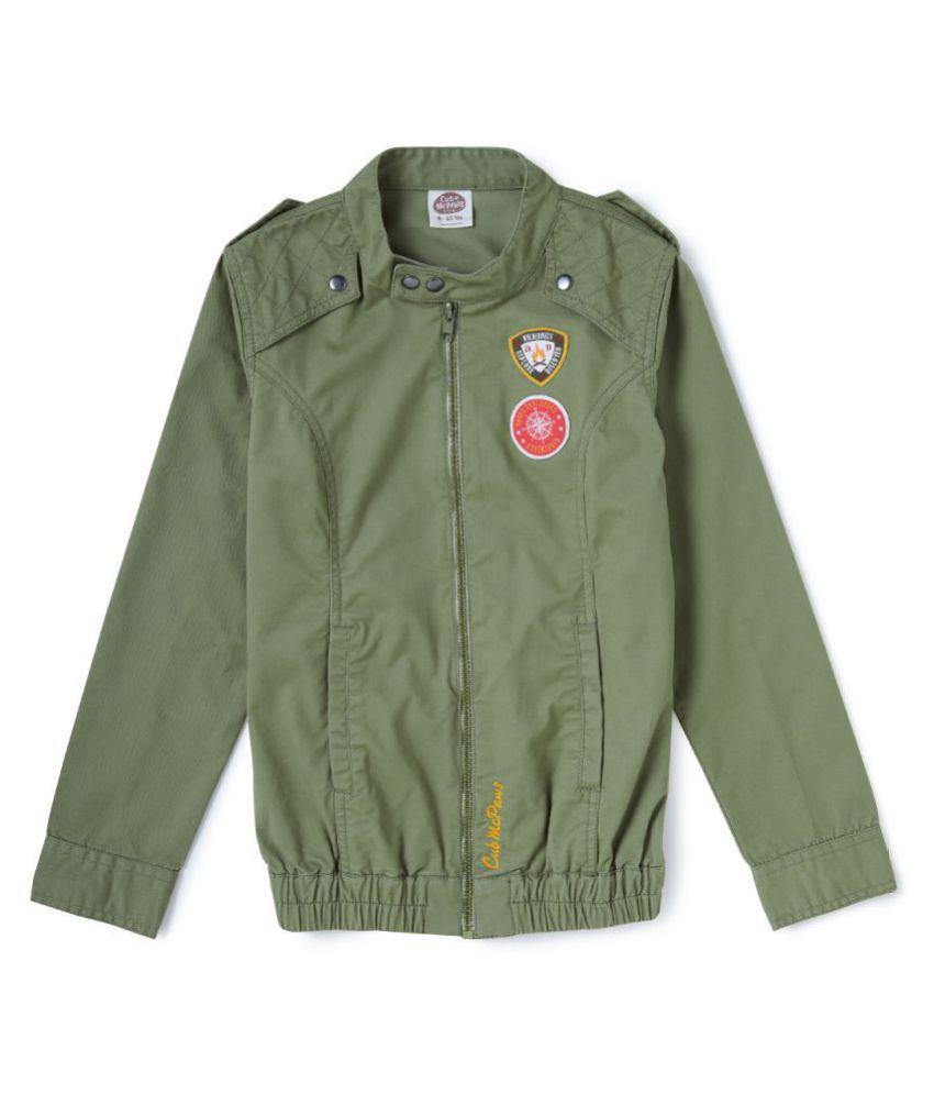 Cub McPaws Mandarin Collar Racer Jacket