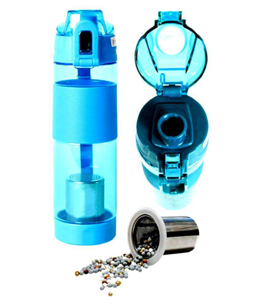 DSMS alkaline stick water purifier Blue 600 mL Water Bottle set of 1