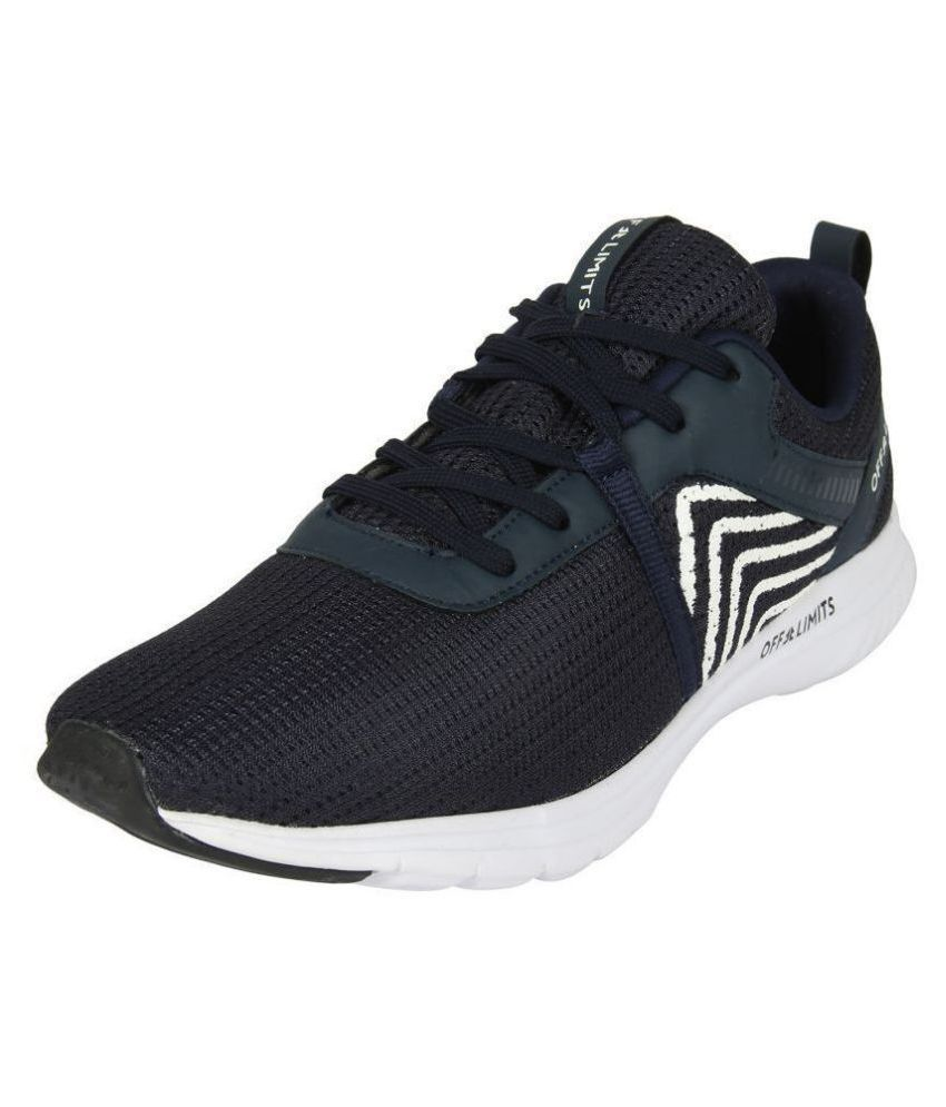 OFF LIMITS MARCUS Navy Running Shoes