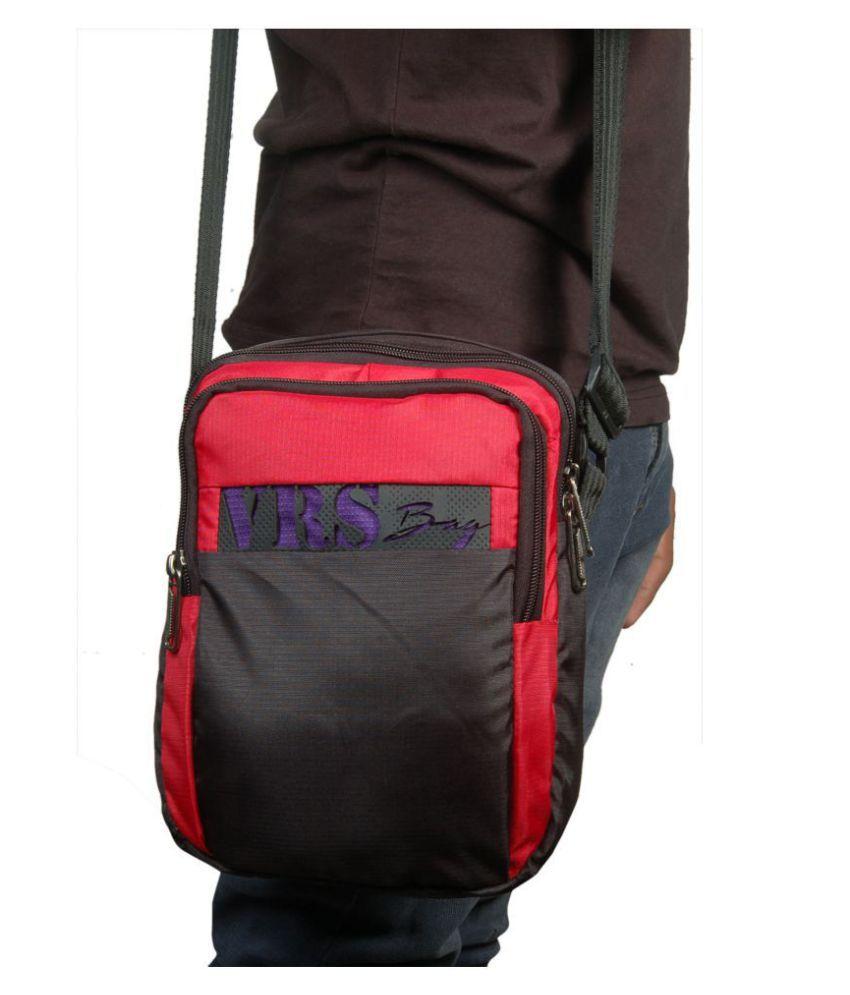 VRS BAG Multi Color Polyester Casual Messenger Bag