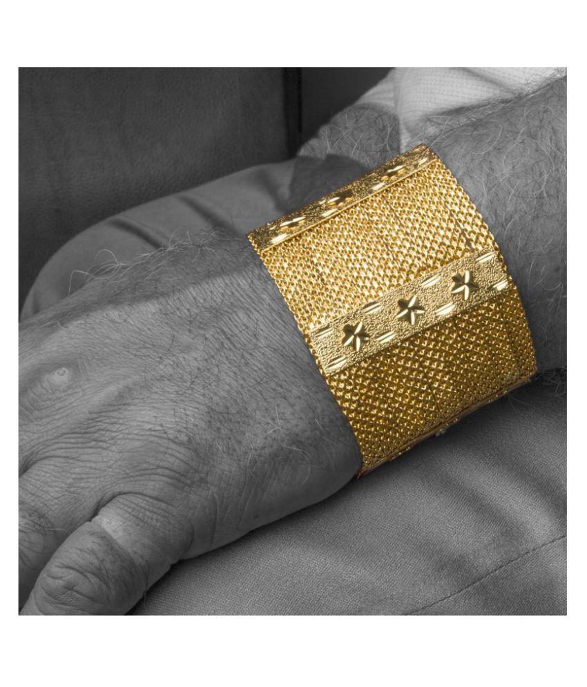 Piah Gold Brass & Copper Bracelet