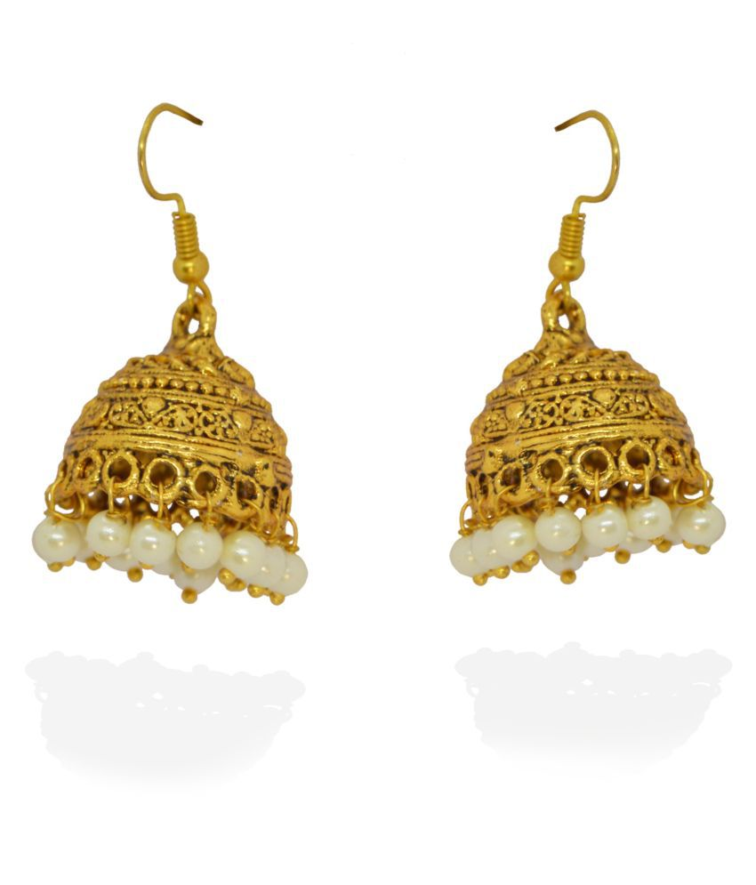 j. j. jewellers Gold Plated Earrings for Girls and Women